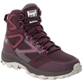 Jack Wolfskin Downhill Texapore Chaussures Mi-Hautes Femme, burgundy/pink
